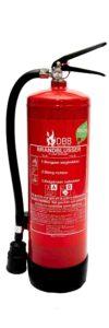 Fluorvrije brandblusser Dudink Brandbeveiliging