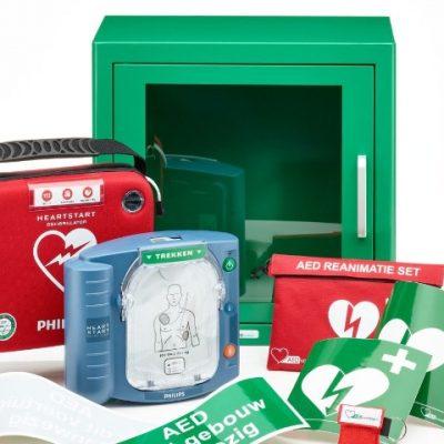 AED apparatuur Dudink Brandbeveiliging